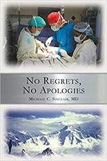 no regrets, No Apologies, doctor-book