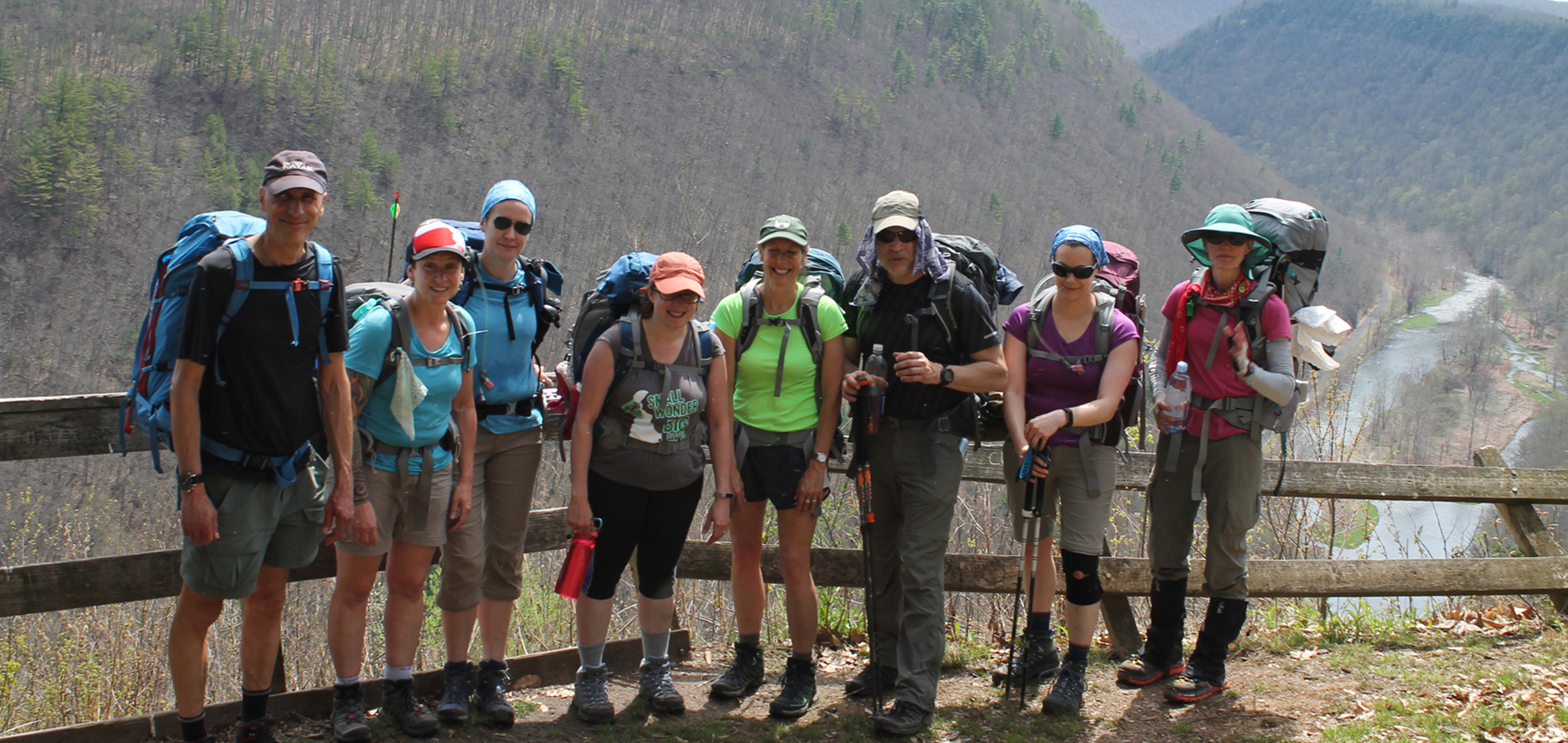 backpacking-group-takes-a-break